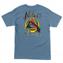 NATAS EVIL CAT t-shirts Vintage Blue