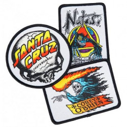 Santa Cruz OGSC Patch 3-Pack Assorted