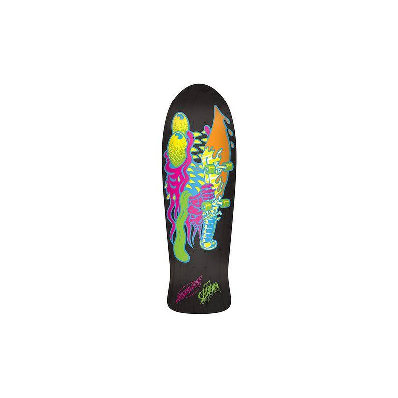 SANTA-CRUZ Neon Slasher Matte Stain, Deck, black - 31.13in x 10.1in
