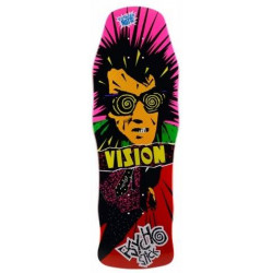 Skateboard deck Vision Psycho Stick Red