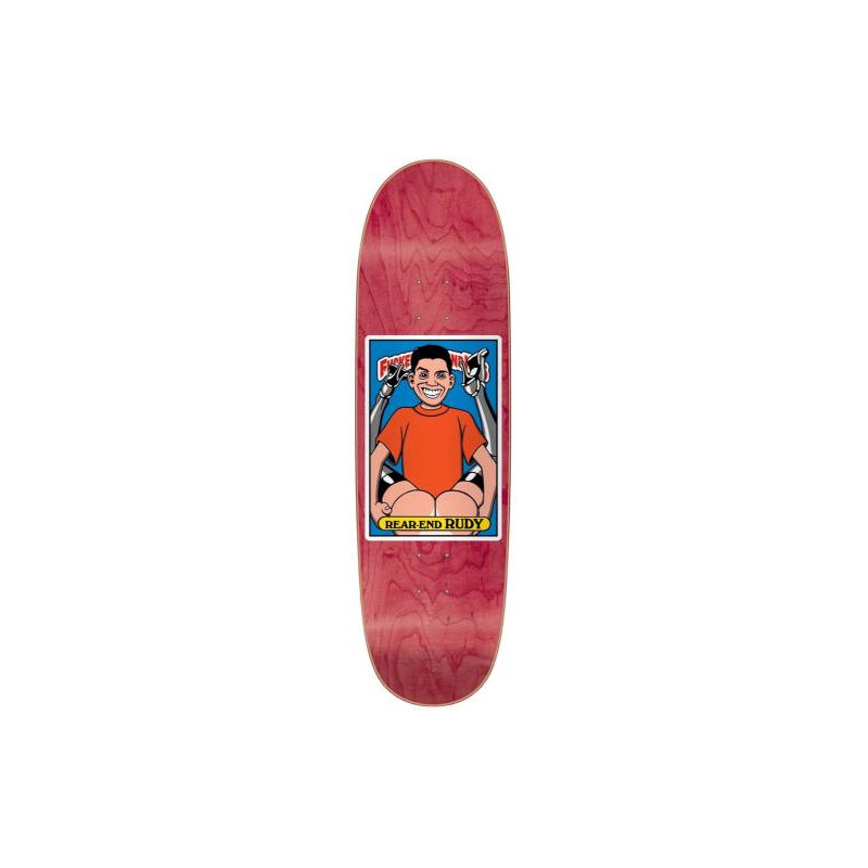 """Pre-commande Blind Fucked Up Blind Kids - Rudy Johnson Rear End Rudy 9.0"""" Heat Transfer Re-Issue Deck"""