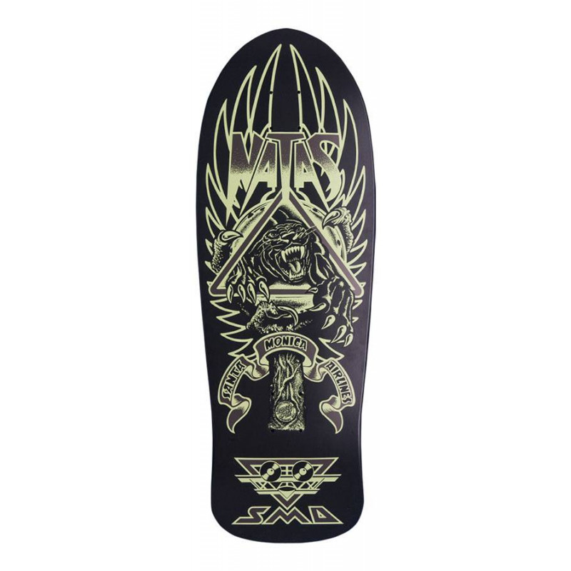 Skateboard deck Natas (Glows In The Dark) - delivery from 15/6
