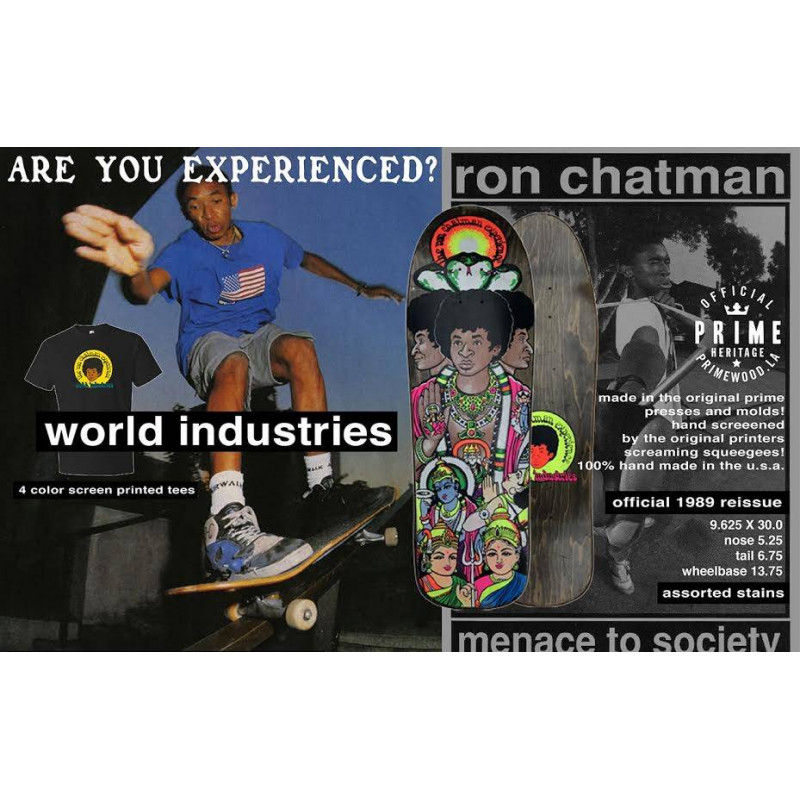 Skateboard deck The Ron Chatman Experience - Prime Heritage