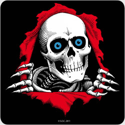 "Sticker Powell Peralta 12"" Ripper Ramp (Single)"
