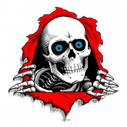 Powell Peralta Ripper Bumper Sticker (Single)