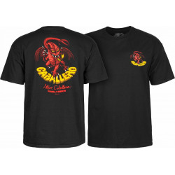 T-shirt Powell Peralta Cab Dragon II Noir