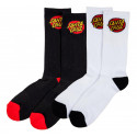 Santa Cruz Socks Classic Dot Sock (2 Pk)