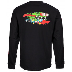 Longsleeve Tshirt Slasher Swords Black