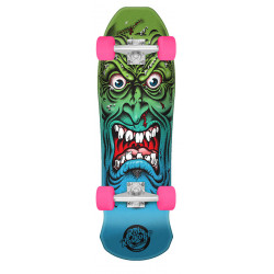 8.025in x 26.0in Mini Roskopp Face Santa Cruz Cruiser Skateboard
