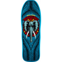 Powell Peralta Mike Vallely Elephant Skateboard Deck - Blue / Black 10 x 30.25