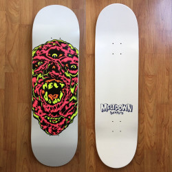 Meltdown Skates Monster Skateboard deck