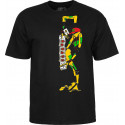 Tshirt Powell Peralta Ray Barbee Rag Doll Noir