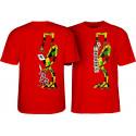 Tshirt Powell Peralta Ray Barbee Rag Doll Rouge