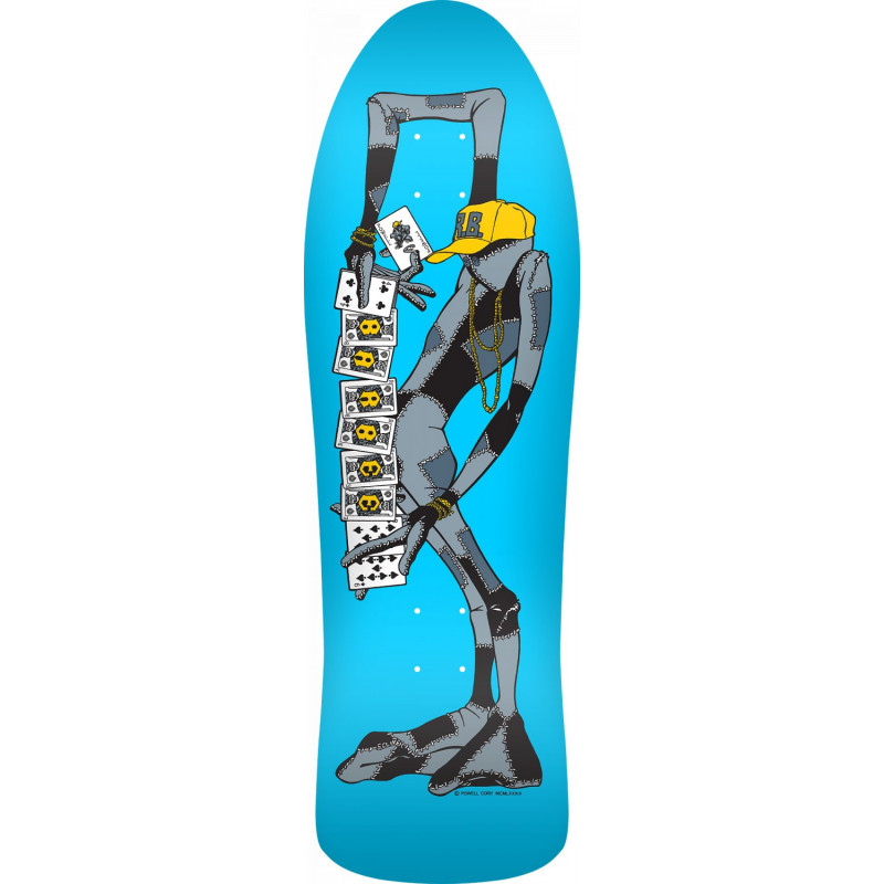 Powell Peralta Barbee Ragdoll Skateboard Deck Blue - 10 x 31.875