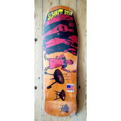 Schmitt-Stix Joe Lopes BBQ Orange Stains Skateboard Deck