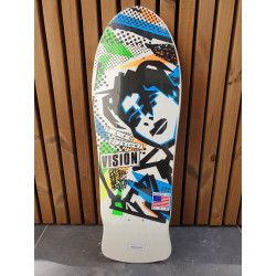 "Vision - Mark Gonzales white 10.0"" Reissue Skateboard Deck"