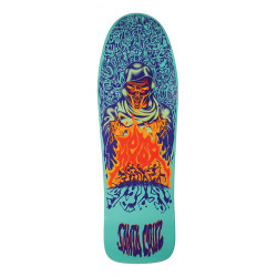 10.07in x 31.275in Knox Firepit Reissue Santa Cruz Skateboard Deck