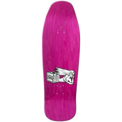 Plateau de skateboard The New Deal Morrison Bird Hand Sérigraphié