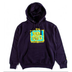 New Deal 30th Anniversary Napkin Logo Pullover Hoodie - Navy