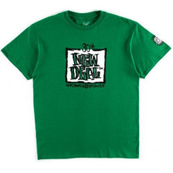 New Deal 30th Anniversary Napkin Logo T-Shirt - Green