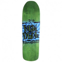 "NEW DEAL - STEVE DOUGLAS NAPKIN FOUNDERS GREEN 9.125"" SKATEBOARD DECK"