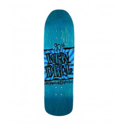 "NEW DEAL - STEVE DOUGLAS NAPKIN FOUNDERS BLUE 9.125"" SKATEBOARD DECK"