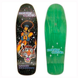 Prime Heritage/World Ind Randy Colvin 'Velvet Safari Flocked Deck