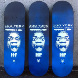 HAROLD HUNTER SPRAY FADED SKATEBOARD DECK