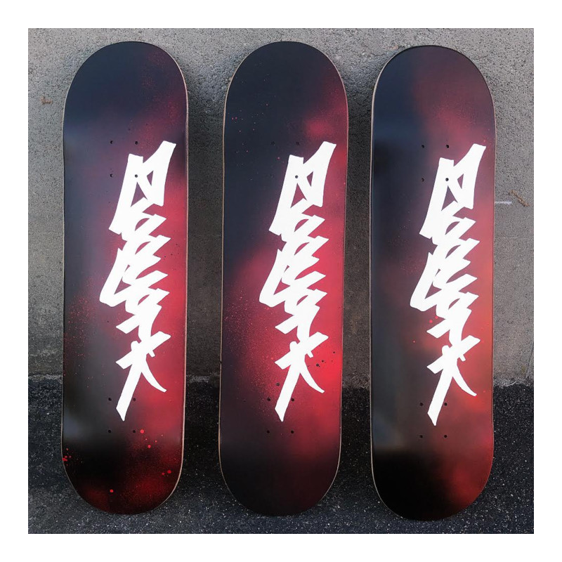 ZOO YORK TAG SKATEBOARD DECK