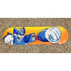 JK industries rockman x limited edition 8.5 X 32.25 HAND SCREENED