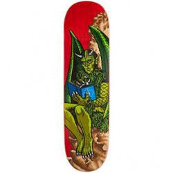 "StrangeLove Skateboards Gargoyle deck 8.375"" wide. Artwork by Todd Bratrud."