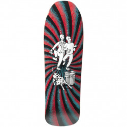 "Plateau de skateboard New Deal 2019 Douglas Chums SP Deck 9.75"" Maroon"