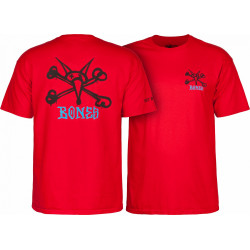 Powell Peralta Vato Rat T-shirt rouge