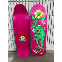 "Plateau de skateboard Ron Chatman ""Gremlin"" the missing 1st pro graphic for World - Rose"