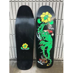 "Plateau de skateboard Ron Chatman ""Gremlin"" the missing 1st pro graphic for World - Noir"