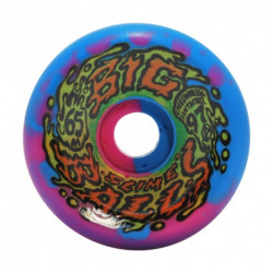 Roues 65mm Big Balls Blue Pink Swirl 97a Slime Balls Skateboard