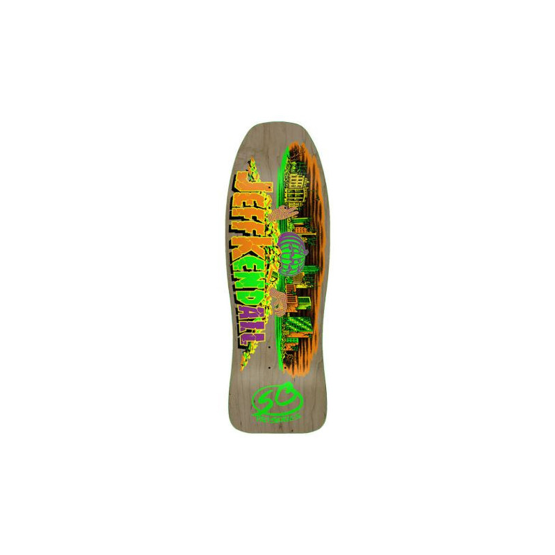 [Available on 15/6/20] Santa Cruz Old School Kendall Pumpkin Reissue Deck