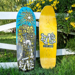 Street plant Five Year Anniversary (9.5) skateboard deck
