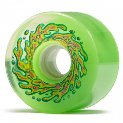 SANTA CRUZ 66MM 78A SLIME BALLS OG SLIME TRANS WHEELS GREEN