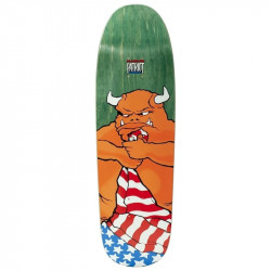 101 Natas Patriot Screen Printed Skateboard Deck 9.5