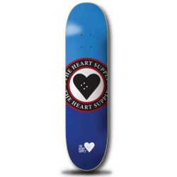 Heart Supply Insignia Deck Blue 8.25""