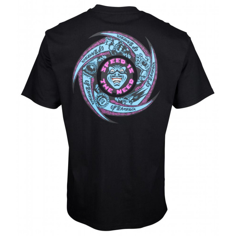 T-Shirt Santa Cruz Speed Wheels