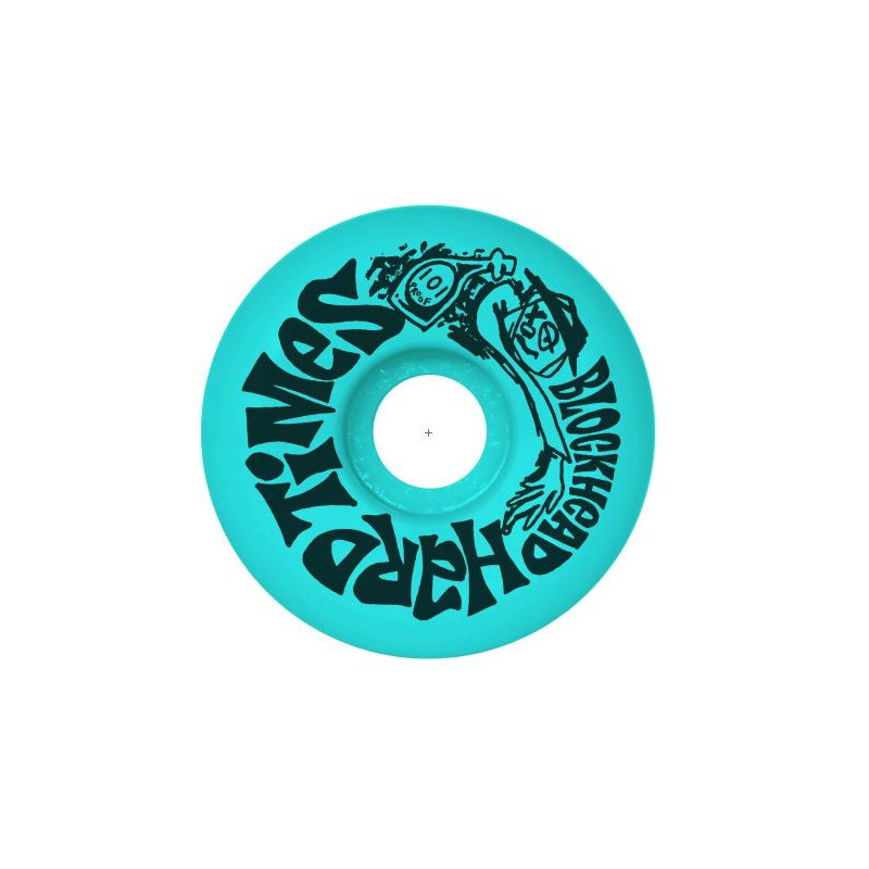 Hard Times Wheels - Neon Blue - 57mm