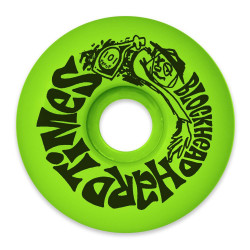 Hard Times Wheels - Neon Green - 60mm