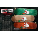 101 Heritage Series Natas Bunny Trap Screened Old School Re-Issue Deck