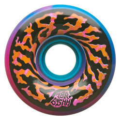 Santa Cruz Skateboards Slime Balls Swirly Pink/Blue Swirl 78A Skateboard Wheels 65mm