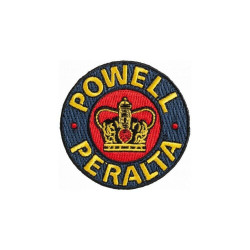 Powell Peralta Supreme embroidered patch 2.5""