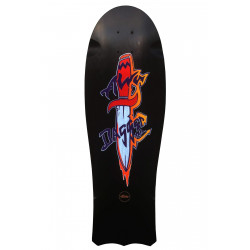 Plateau des skateboard 1985 DAGGERTAIL RE-ISSUE NOIR