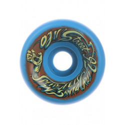 Skateboard Wheels OJ Wheels OJ II Street Speedwheels Reissue Original Blue 92a 60MM