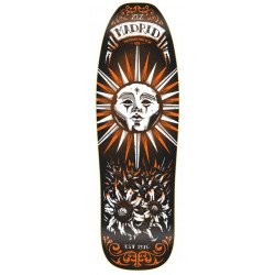 "MADRID SUN TAROT CARD RETRO POOL 9.5"" - SKATEBOARD DECK"